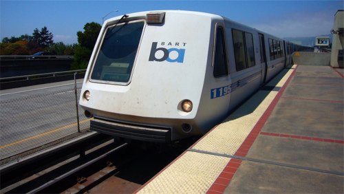 Train (BART): San Francisco Airport (SFO)