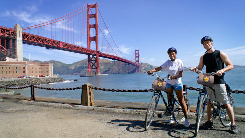 Golden Gate Bridge to Sausalito Guided Bike Tour by Bay City Bike