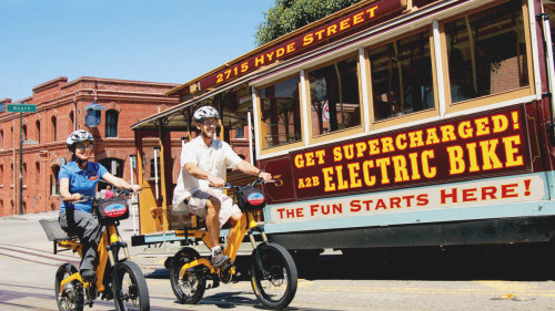 Self-Guided City by the Bay Bike Tour by Blazing Saddles