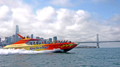 RocketBoat Thrill Ride on San Francisco Bay
