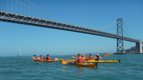 Bay Bridge Kayak Tour by City Kayak