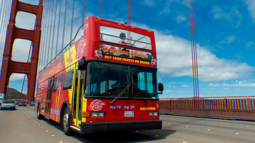 Hop-On Hop-Off Bus Tours by City Sightseeing