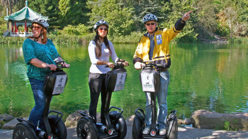 Golden Gate Park Segway Tour by San Francisco Electric Tour Company