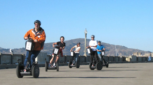 Wharf & Waterfront Segway Tour by San Francisco Electric Tour Company