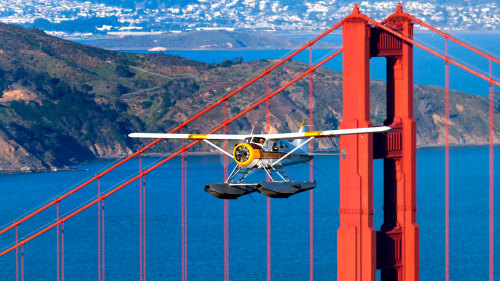 Golden Gate Seaplane Flight by Seaplane Adventures
