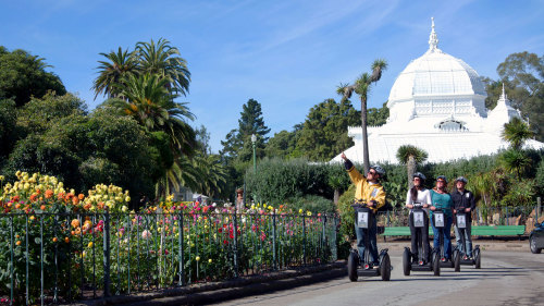 Advanced Segway Tour of Golden Gate Park & Haight-Ashbury by San Francisco Electric Tour Company