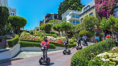 Advanced Segway Tour of Hills, Lombard Street & the Waterfront by San Francisco Electric Tour Company
