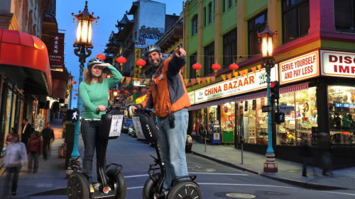 Segway City Night Tour by San Francisco Electric Tour Company
