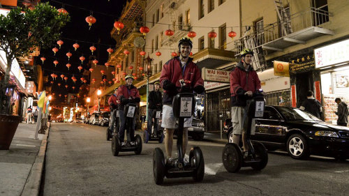 Private Segway Night Tour by San Francisco Electric Tour Company