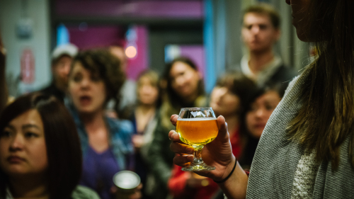 Handcrafted in Dogpatch Tour with Wine, Beer & Food Tastings by Walk SF Tours