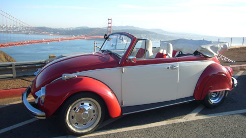 The Bugster Experience: Self-Guided City Tour in Classic Volkswagen Bug