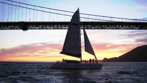 Sunset Sail by Adventure Cat Sailing Charters