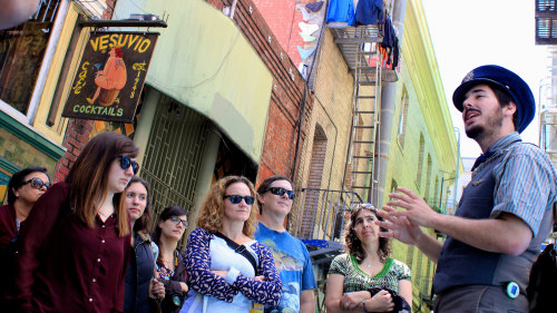 North Beach Walking Tour: Beatniks in Little Italy by Wild SF Tours