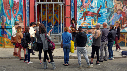 The Mission: An Epic Tale of DIY Walking Tour by Wild SF Tours