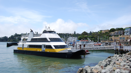 Shared Ferry: San Francisco to Tiburon by Blue & Gold Fleet