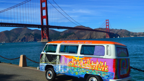 Private Volkswagen Bus City Tour by San Francisco Love Tours