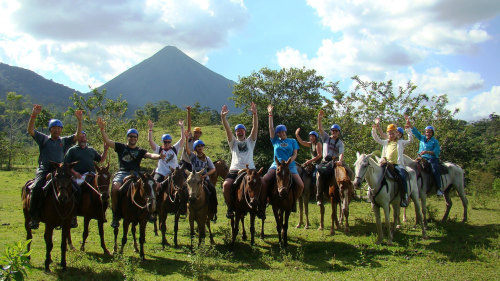 Horseback Rainforest Ride to the La Fortuna Waterfall