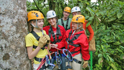 Zipline & Canopy Tour in Braulio Carrillo National Park
