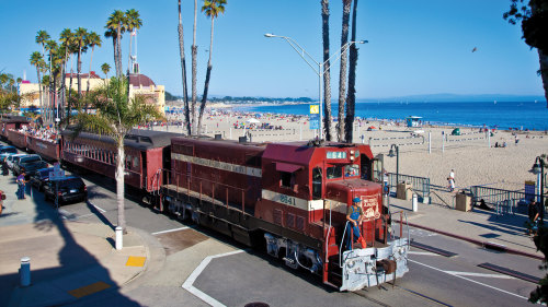 Santa Cruz Beach Train Adventure by Roaring Camp Railroads