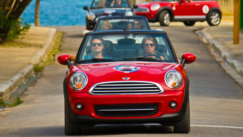Half-Day Sightseeing Tour via Mini Cooper