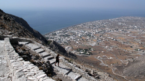 Ancient Thira Ruins Half-Day Tour