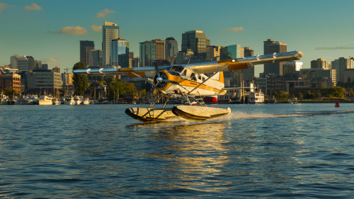 Scenic Seaplane Flight by Kenmore Air