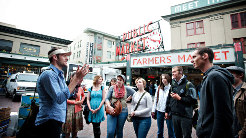 Tour of Historic Pike Place Market