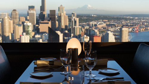 Space Needle: Dine with a View at SkyCity