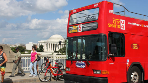Hop-On Hop-Off Sightseeing Bus Tour