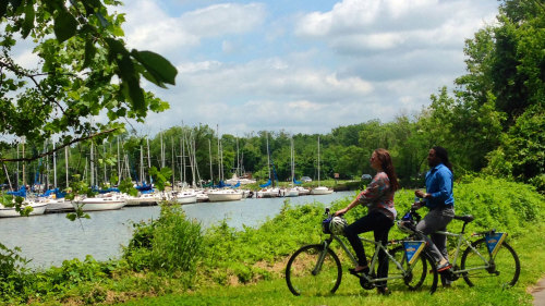 Mount Vernon by Bike & Boat