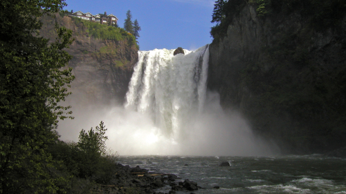 Snoqualmie Falls & Seattle Winery Tour