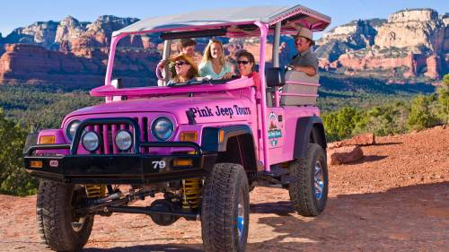 Pink Jeep Tours: Coyote Canyons Tour