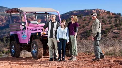 Sedona Desert Hiking Tour by Pink Jeep Tours