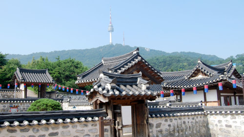 N Seoul Tower, Hanok Village & Korean War Memorial by Seoul City Tour