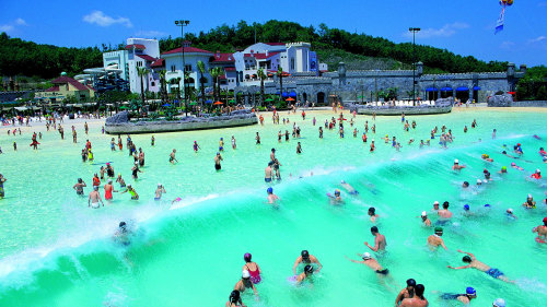 Caribbean Bay Water Park Admission & Transfer by Seoul City Tour
