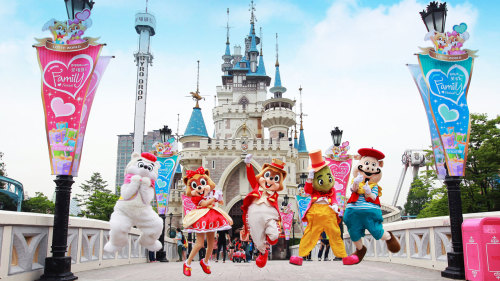Lotte World Theme Park Admission