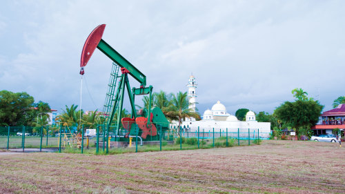 Private Seria Oil Field & Kuala Belait Tour with Lunch