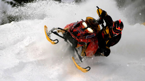 Extreme Snowmobile Adventure