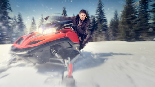 Private Snowmobile Excursion