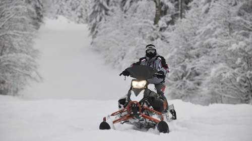 Snowmobile Wilderness Adventure