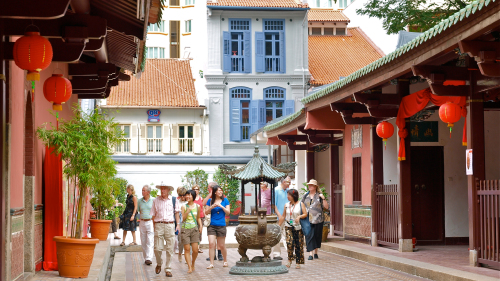 Chinatown, Temple & Ann Siang Hill Walking Tour