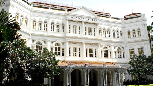 High Tea at Raffles Singapore & Historic Half-Day Tour