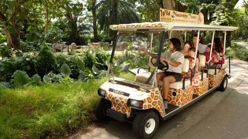 Singapore Zoo Admission
