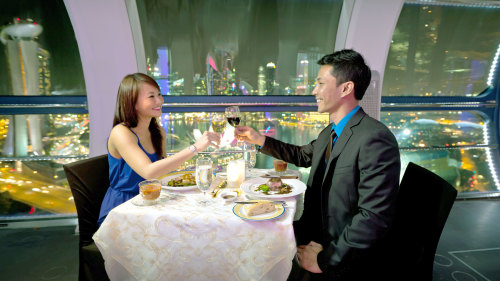 Singapore Flyer Sky Dining Experience