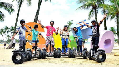 Segway Eco Adventure on Sentosa