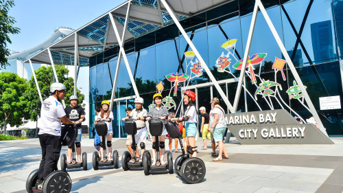 Highlights of Marina Bay Segway Tour