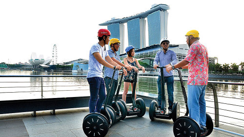 Signature Icons of Marina Bay Segway Tour