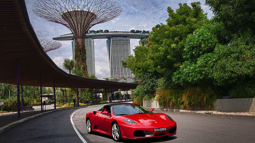 Singapore F1 Street Circuit & Freeway Driving Experience