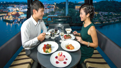 Cable Car Sky Dining by Tour East Singapore