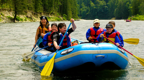 Family Rafting Adventure on the Skykomish River